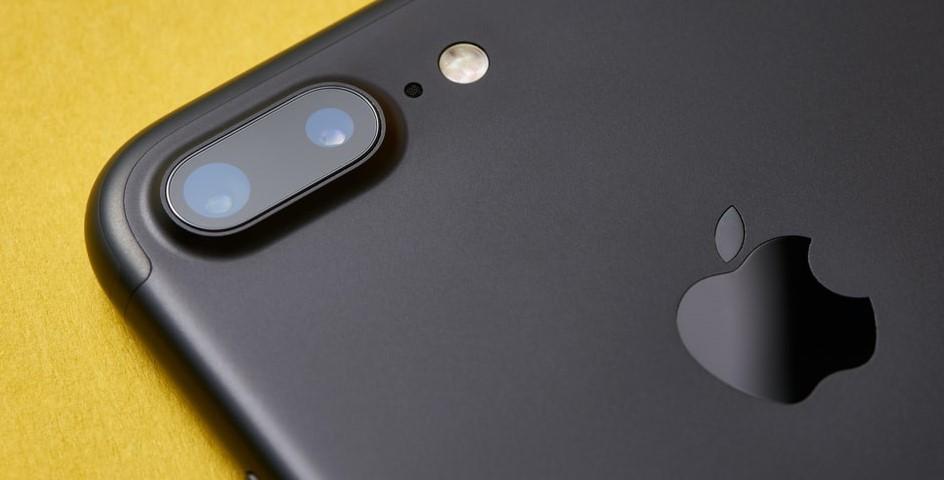 close na câmera do iphone 7