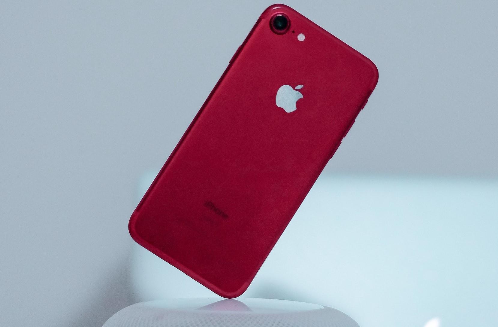 iphone 7 vermelho